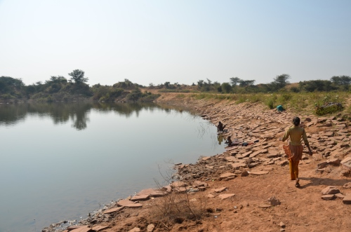 adding dams in Karauli, India - enabling the (female) population to focus on education instead of water