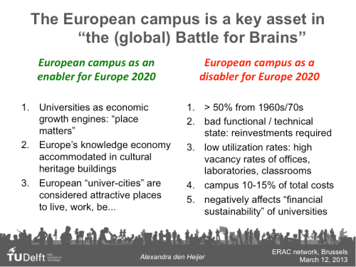 "from our research ""The European campus"""