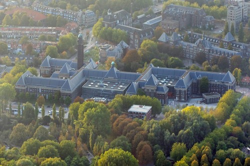 BK city = our Architecture faculty building (> 2008), Julianalaan 134, Delft, Netherlands (source: TU Delft)