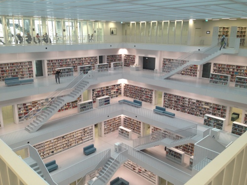 Stadtbibliothek / Library Stuttgart - more info: