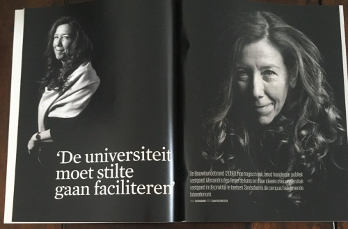 photo pages Delft Integraal (Alexandra den Heijer by Sam Rentmeester)